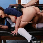 Madison Fox in Big Tits at School: Mr. Holland's Owed Puss 05